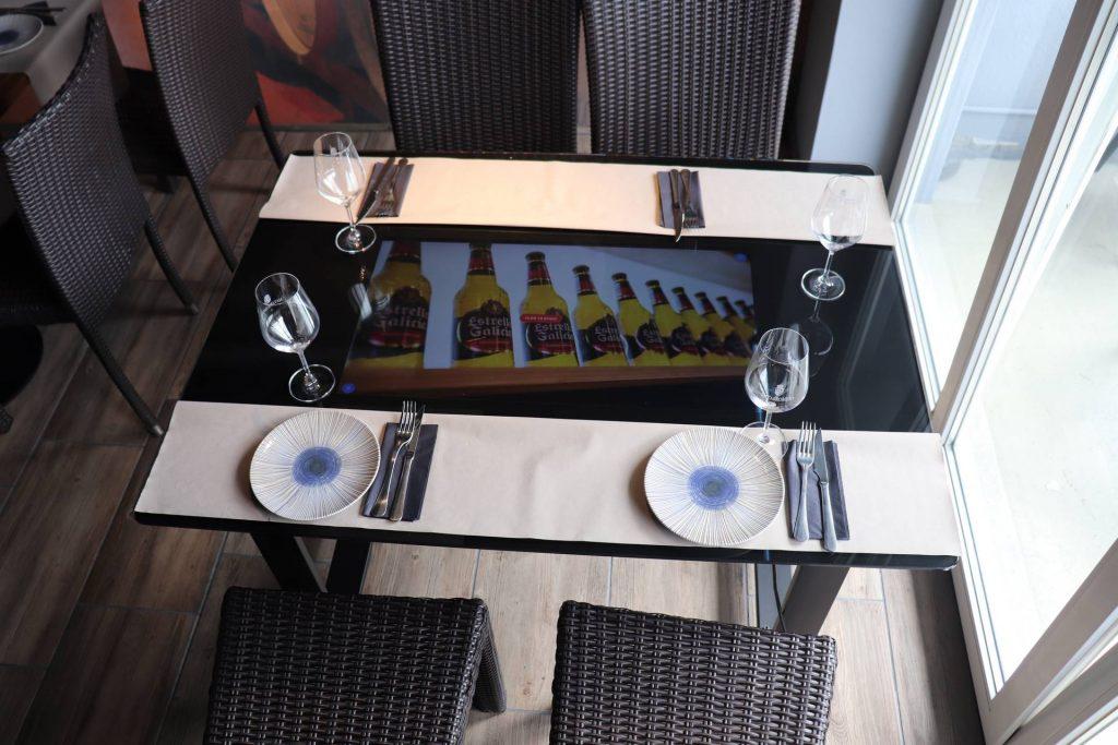 Nuevo Restaurante con mesas interactivas ResTTable